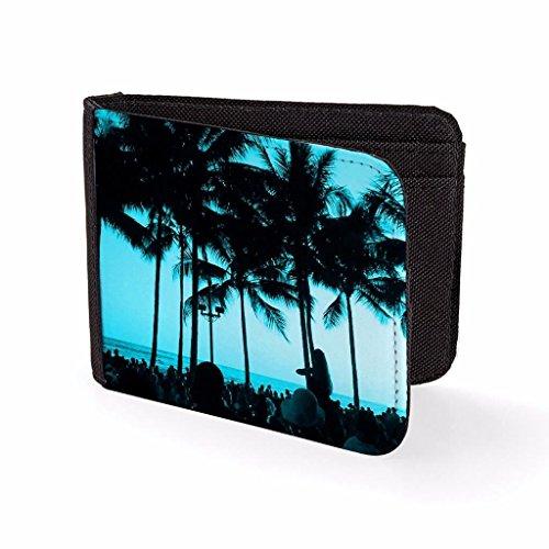 buy popular 3ea68 ebb29 Impresa En Para Hombre Azul Billetera Fiesta Tarjetero La amp  Playa dOqnSgY