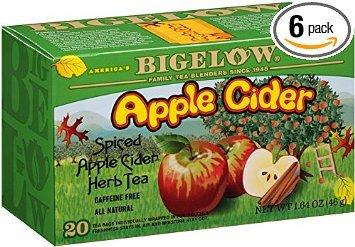 Bigelow Spiced Apple Cider Herb Tea 20 Bags