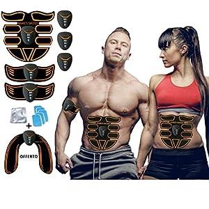 kames skoss prestige – Appareil d'électrostimulation, ceinture abdominale electrostimulation Trainer pour hommes et…