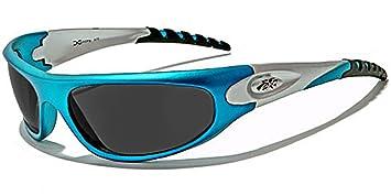 X-Loop Lunettes de Soleil - Sport - Cyclisme - Ski - Conduite - Moto - Plage / Mod. 2610 Bleu Turquoise lOAFf8IJH