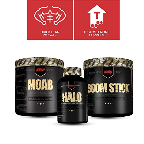 Redcon1 - Ultimate Natural Anabolic Stack -Muscle Building, Boost Testosterone, Increase Protein Synthesis, Build Lean Muscle Fast, Increase Strength (Grape)