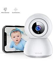 Victure 1080P Cámara WiFi Cámara Vigilabebes con Detección de Sonido y Seguimiento de Movimiento