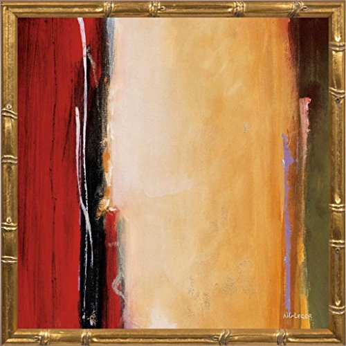 14x14 Solar Emission I by Li-Leger, Noah: Gold Bamboo 12312 by The Rusty Roof