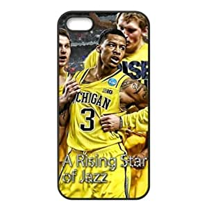 Utah Jazz Trey Burke Image Design iPhone 5/5s TPU Case-by Allthingsbasketball