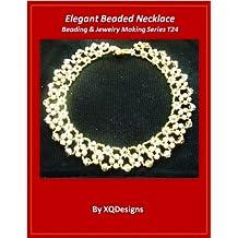Elegant Beaded Necklace Beading & Jewelry Making Tutorial Series T24