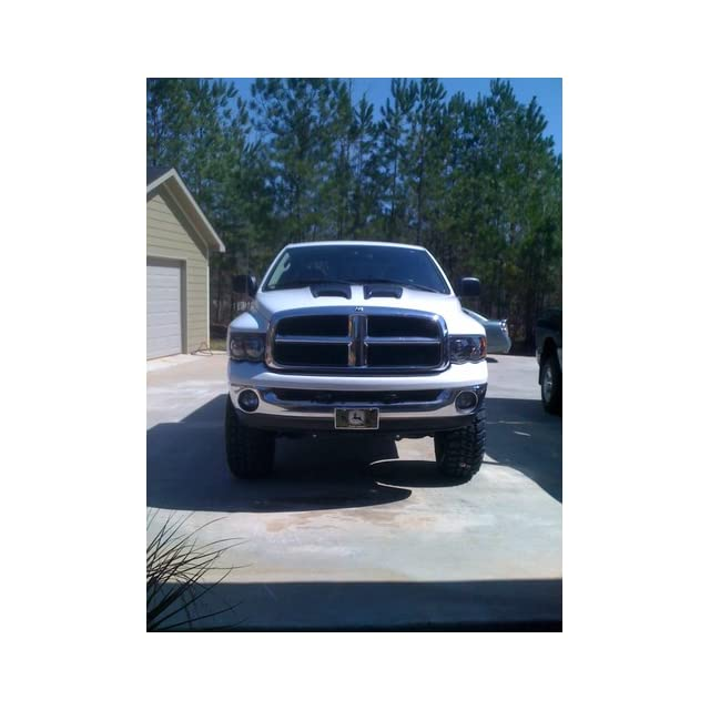 Dodge Ram 1500/2500/3500 Black Headlights Set w/Xenon Bulbs