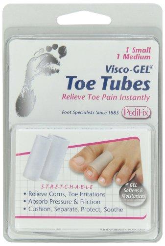 PediFix Visco-gel All-gel Toe/finger Tube - Mixed, 2-Count
