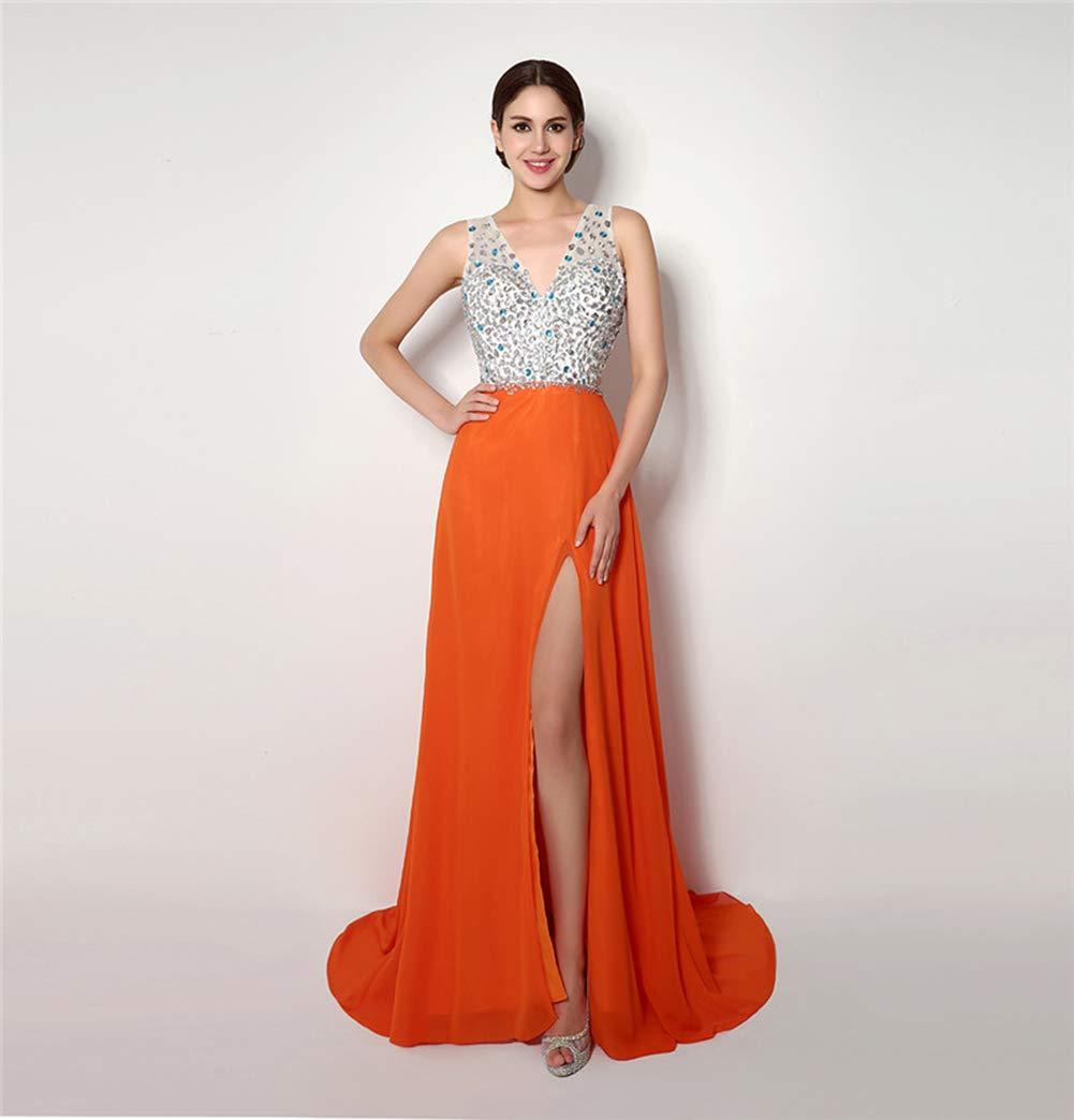 女性の結婚式のレースのVネックストラップレスの優雅な気質の王女のウェディングドレス大人のドレスのイブニングドレス,US4 US4  B07Q1X7LDR