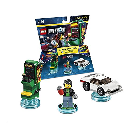 LEGO Dimensions Midway Arcade Level Pack (Midway Arcade Ps3)