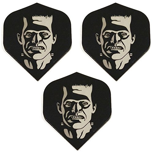 Art Attack Designa Supermetronic Frankenstein Party Monster Halloween 75 Micron Strong Dart Flights (1 Set)