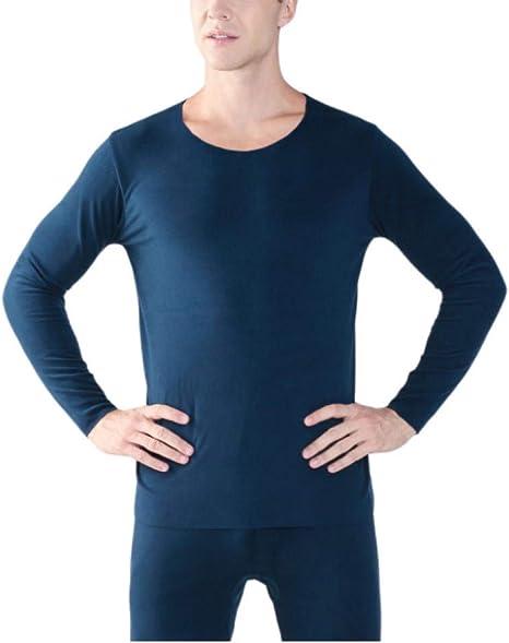 SGJKG Otoño e Invierno para Hombres, además de una Camisa cálida de Manga Larga sin Costuras de Doble Cara, Camisas térmicas, Ropa Interior térmica: Amazon.es: Deportes y aire libre