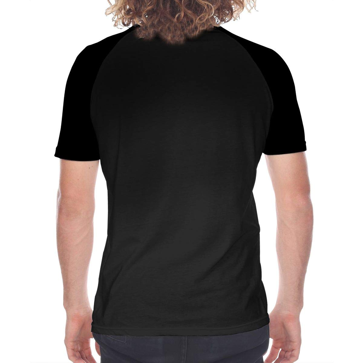 FwadGacx LazarBeam Men Youth Stylish Short Sleeves Full Size Printed Baseball Tee Gift