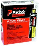 PasLode 650039 Short Yellow Fuel Cell 4-Pack
