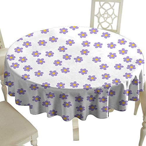 Elegance Engineered Tablecloth small colored flowers on a white background For prints postcards greeting cards wedding invitations birthday Valentine s day Indoor Outdoor Camping Picnic D35