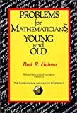 Problems for Mathematicians Young and Old, Halmos, P. R., 0883853205