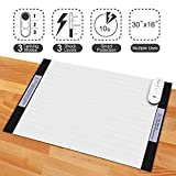 Pet Training Mat - 30 x 16 Pet Shock Mat for Dogs & Cats, 3 Training Mode Shock Mat for Cats & Dogs, Indoor Use Pet Training Pad w/LED Indicator, Flexible Mat
