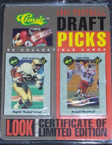 CLASSIC 1991 Football Draft Picks ()
