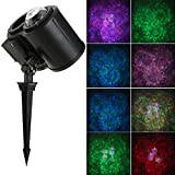 Dual Tubes Landscape Spotlight Lamp,Waterproof Adjustable Angle Dual Tubes Landscape Light Lawn Landscape Light for Outdoor Wedding Christmas Halloween Holiday Outside Decoration (1pc)