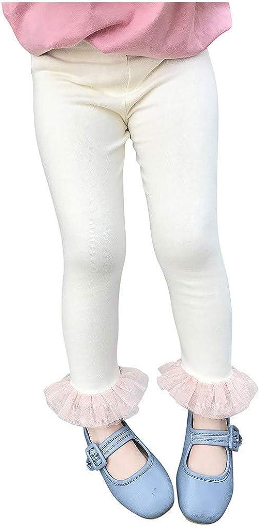 Moneycom 1A-6A Kleinkind Kinder Baby M/ädchen Spitze Leggings Strumpfhose Hose Outfits Kleidung