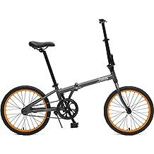 Critical Cycles Judd Folding Single Speed Bike with Coaster Brake, Matte Eggshell, 26 cm/One Size