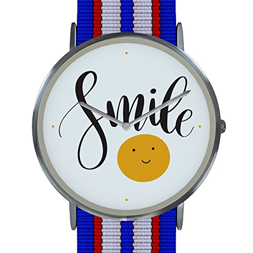 'Smile' Wrist Watch - Unisex Watch for Men and Women, Teens & Adults with 30 Day Warranty Limited Edition