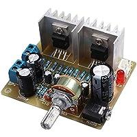 SODIAL Doble canal TDA2030A Kit DIY amplificador