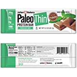 Paleo Protein Bar (Chocolate Mint) 12 Bars in Single Box (20g Grass-Fed Beef) (2 Net Carbs) w/Organic Prebiotics