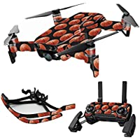 MightySkins Skin for DJI Mavic Air Drone - Basketball | Max Combo Protective, Durable, and Unique Vinyl Decal wrap cover | Easy To Apply, Remove, and Change Styles | Made in the USA