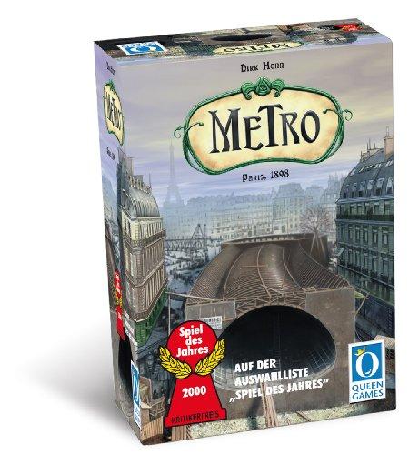 Queen Games 6015 - Metro Brettspiel
