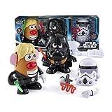 Disney Star Wars Mr Potato Head 30 Piece Set Luke Frywalker Darth Tater & Spudtrooper Costume