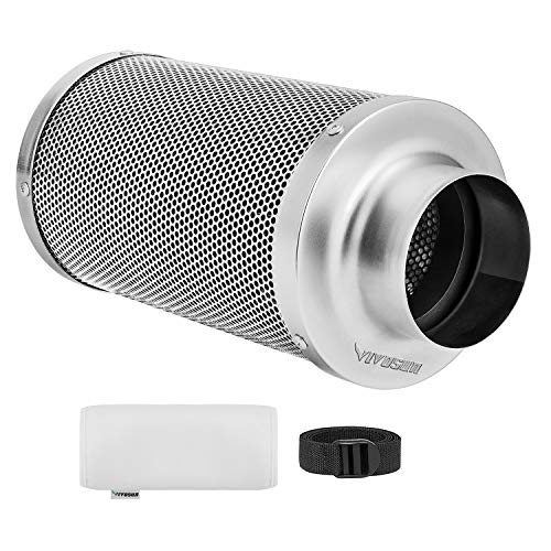 VIVOSUN 4 Inch Air Carbon Filter Odor Control with Australia Virgin...