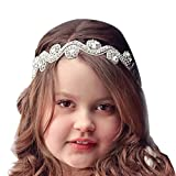 Baby Headband AutumnFall(TM) 2015 New FashionBaby Girls Kids Handmade Beaded Drill Hair Band (S)