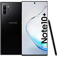 Samsung Galaxy Note 10+ Dual SIM - 256GB, 12GB RAM, 4G LTE, Aura Black, UAE Version
