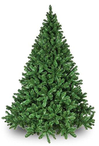 Oregon Fir Unlit Christmas Tree Artificial Christmas Tree, Full (7.5') ()