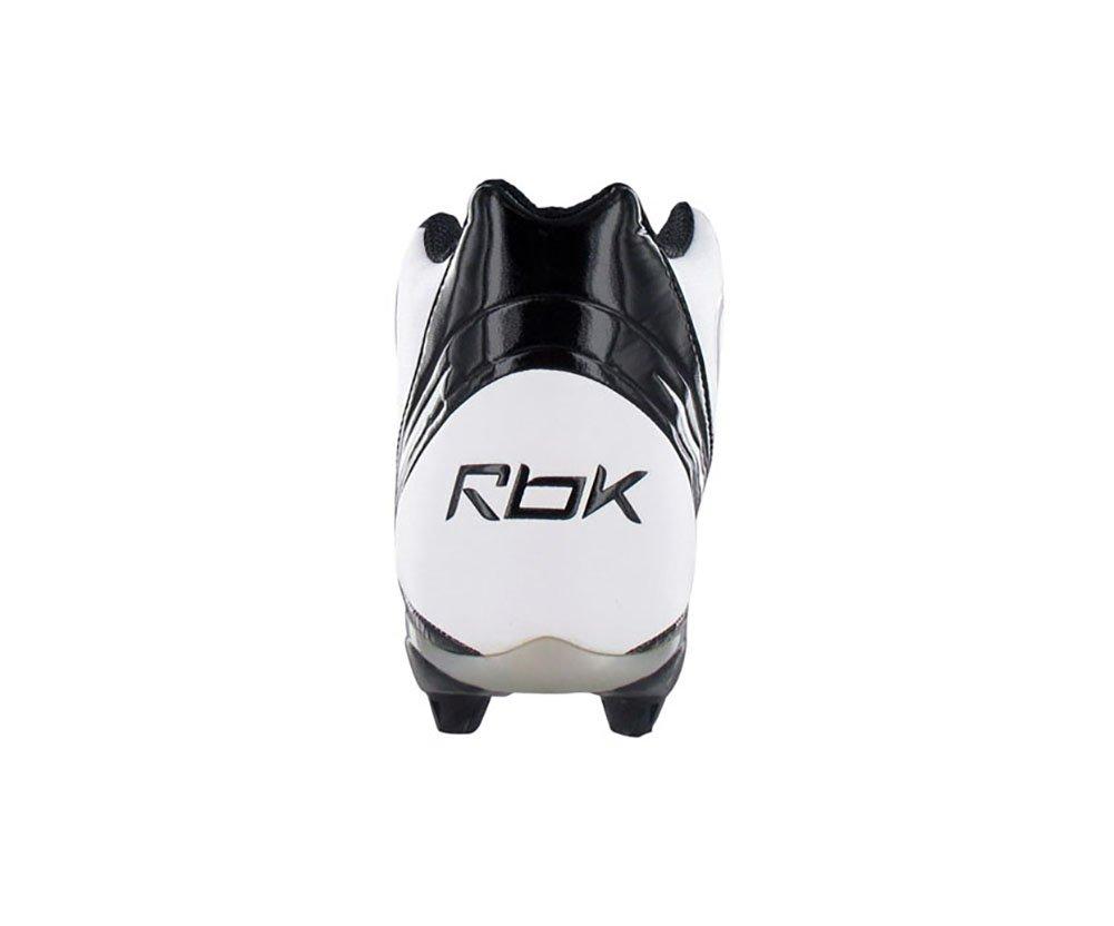 ba12495456f Reebok NFL Burner Speed 5  8 SD3 Mens Football Cleats White    Black ...