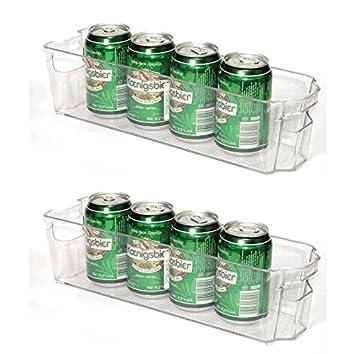 2-er Set Kühlschrank-Box, Aufbewahrungsbehälter, Kühlschrank ...