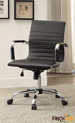 Finch Fox PU Leather Executive Chair (Black)