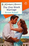 The One-Week Marriage, Renee Roszel, 0373035594