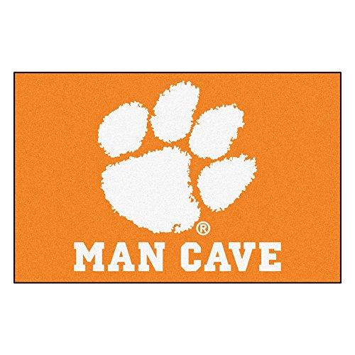 FANMATS 14536 Clemson University Nylon Universal Man Cave Starter ()