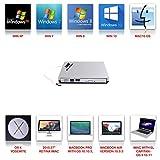External DVD Drive,USB 2.0 Slim Portable External CD/DVD-RW Player/Writer/Burner for Apple MacBook, Laptops, Desktops, Notebooks Yahe
