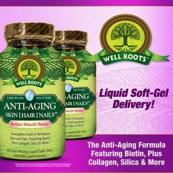 well-roots-anti-aging-skin-hair-and-nails-2-bottles-total-of-120-liquid-softgels-by-well-roots