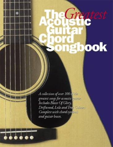 the big acoustic guitar chord songbook  eBay