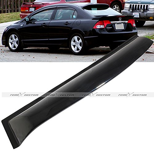 2006 - 2011 Honda Civic 4DR Sedan Rear Window Roof Visor Spoiler Wing Ver. 2 (2 Roof Spoiler)