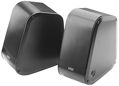 (Swans LX2 - Premium Powered Aluminum Desktop Stereo Speakers)