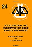 img - for Acceleration and Automation of Solid Sample Treatment, Volume 24 (Techniques and Instrumentation in Analytical Chemistry) book / textbook / text book