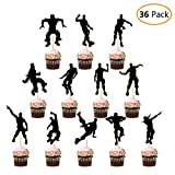 DMight Birthday Party Supplies for Game Fans, 36 Pcs Dance Moves Cupcake Toppers(12 Styles), Cake Decorations, Party Favors
