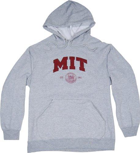 MIT Hoodie Hooded Sweatshirt New Style -Grey - XXL