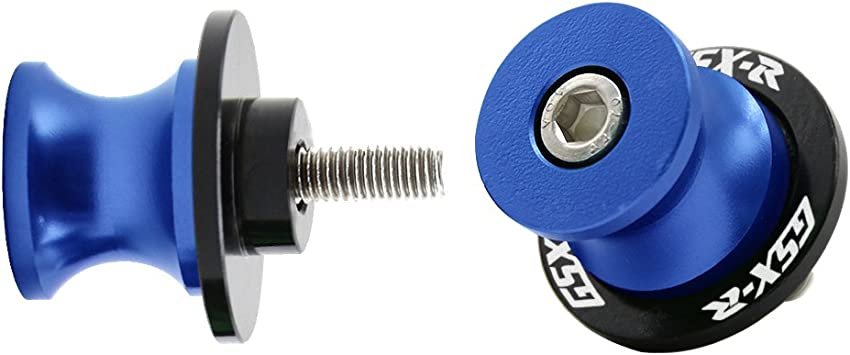 8MM Swingarm Spools Sliders Screws For Suzuki GSXR 600//750//1000//1300 Universal