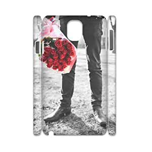 Samsung Galaxy Note 3 Case, romance 3D Case for Samsung Galaxy Note 3 White