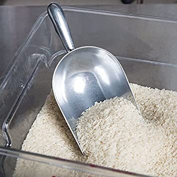 Dry Bin Scoop ROY SA 24 Spice Scoop Candy Scoop Aluminum by Royal Industries 24 Ounce Bar Ice Scoop Commercial Grade Dry Goods Scoop